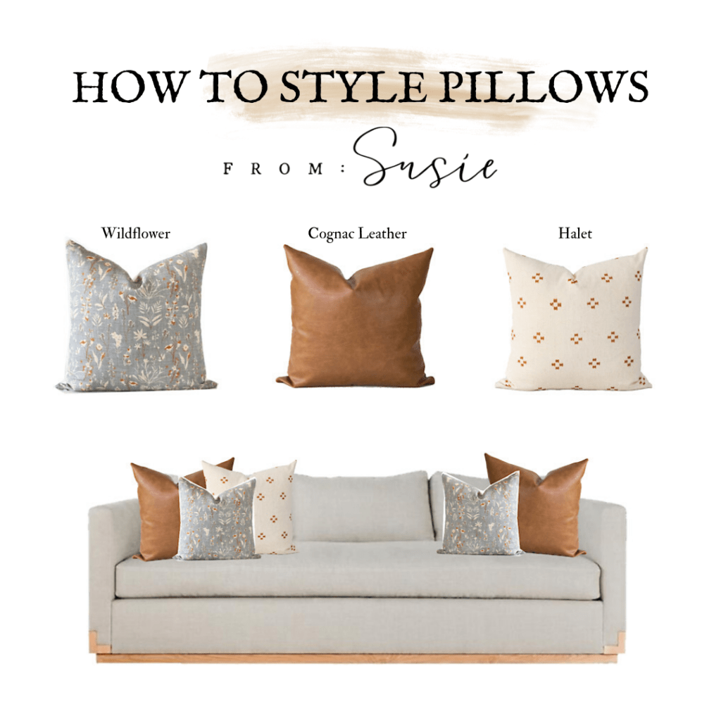 pillow style guide showit blog