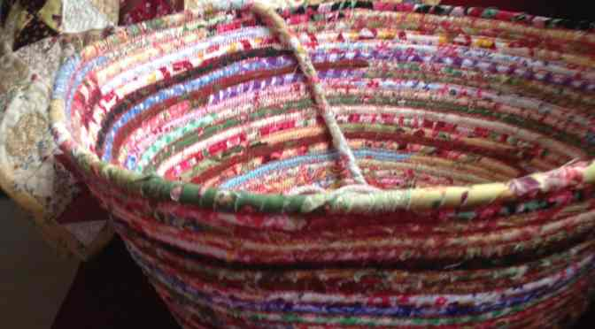 """End of Day"" Quilters Basket – Free Tutorial"