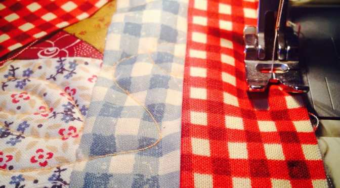 Attaching Binding to a Quilt – Tutorial