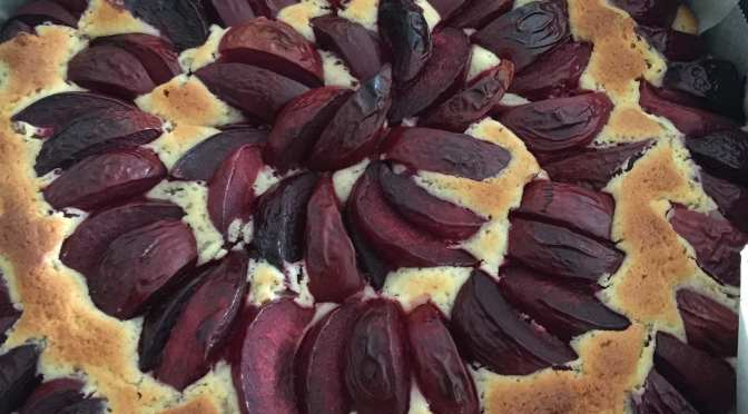 What's Cooking? … Plum Cake