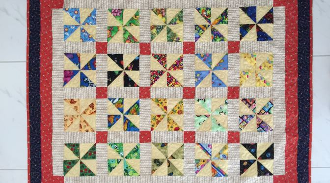 I Spy Pinwheels Quilt and Pattern