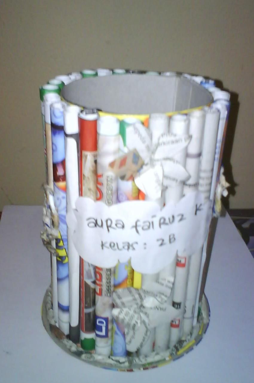 Tempat Pensil Dari Botol Bekas : tempat, pensil, botol, bekas, Sketsa, Catatan, Kecil, Halaman