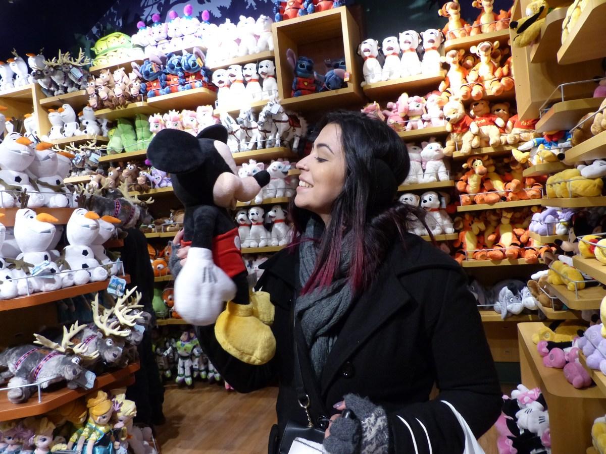 Conhecendo a loja da Disney em NY <3
