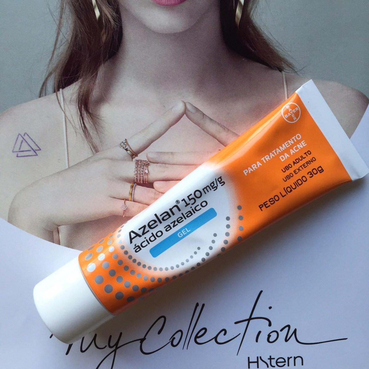 Azelan gel: Meu aliado contra a acne e rosácea