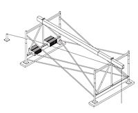 Outrigger Beam Support Frames On Spider, A Div. of