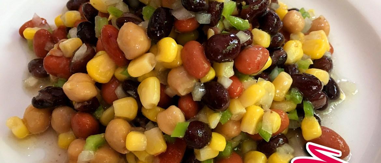 Mixed beans salad