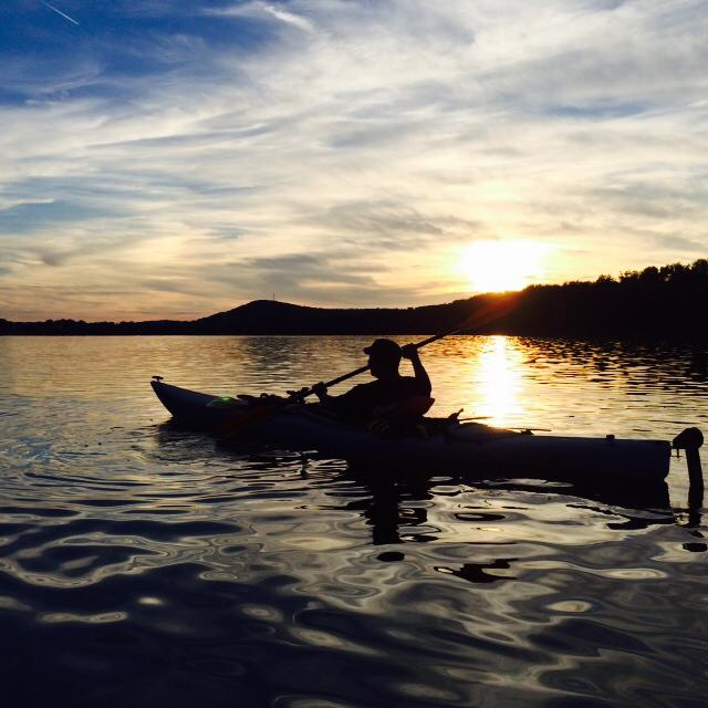 hickory sunset