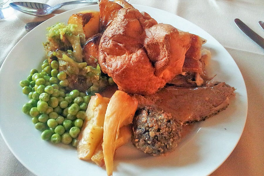 One of the best traditional sunday roast dinners in West Sussex, The Inglemook