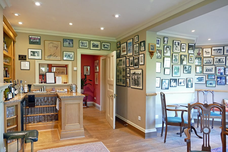 The bar at Park House Hotel, Bepton, nr Midhurst,West Sussex
