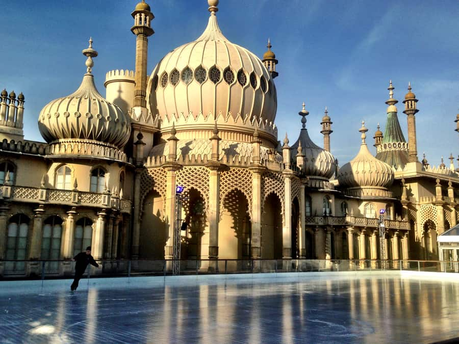 Christmas Skating Brighton Pavilion