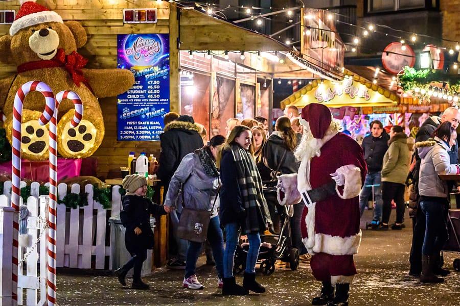 Christmas in Bognor Regis, West Sussex
