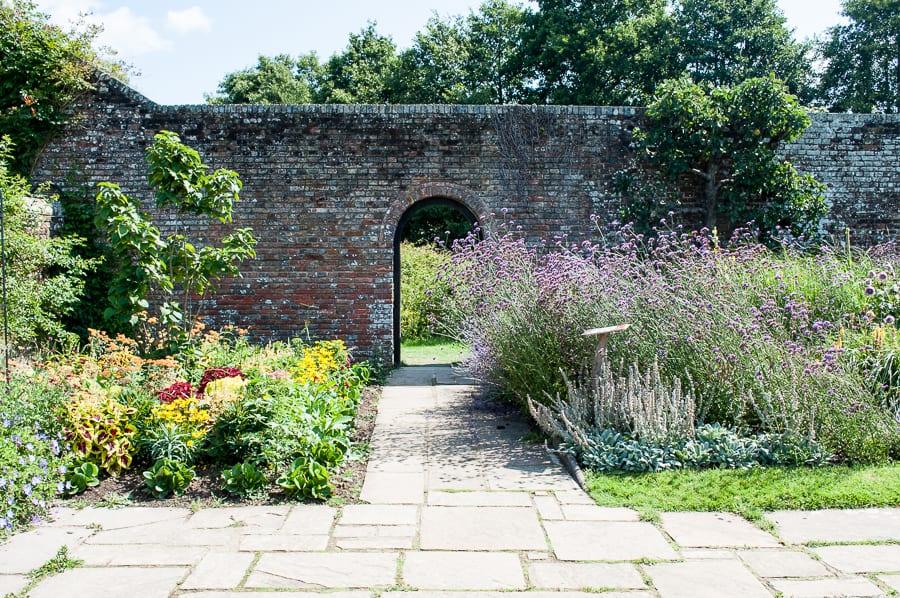 Walled Garden at Herstmonceux