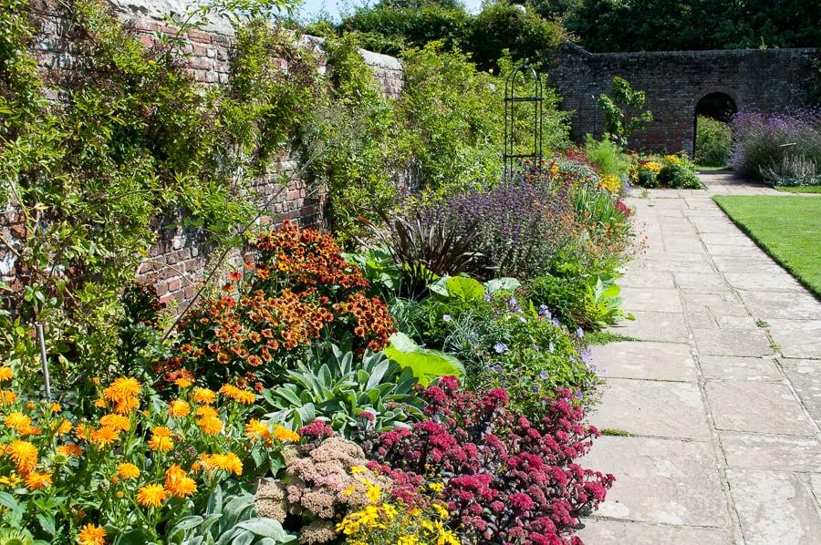 Garden Border at Herstmonceux