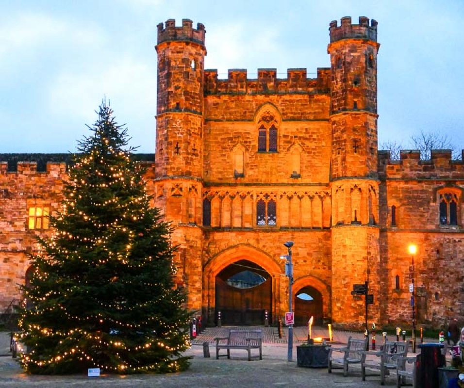 Battle Abbey at Christmas