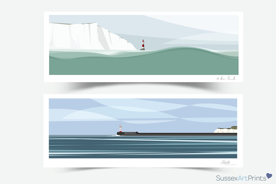 Sussex Art Beachy Head