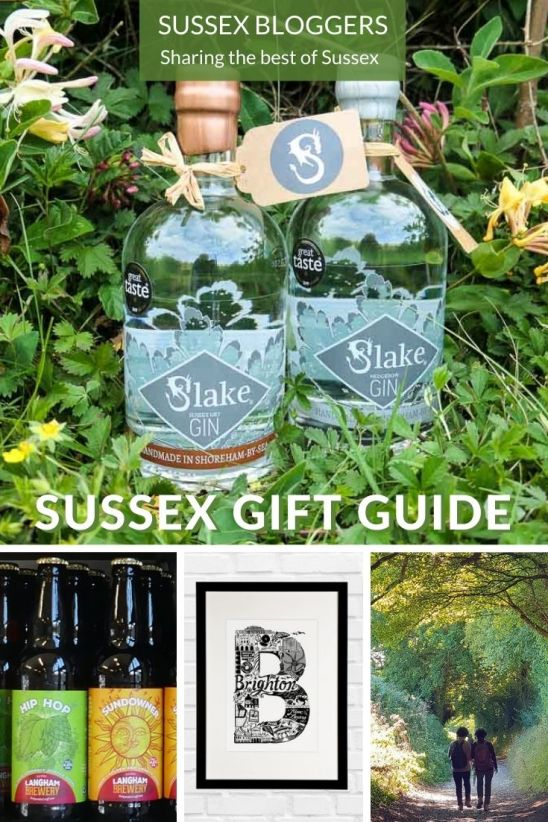Sussex gift guide - gifts from small businesses in East and West Sussex