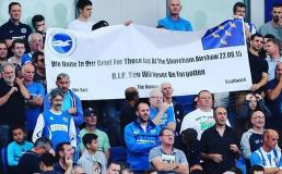 In Memory of Shoreham Air Disaster. Amex Stadium, Brighton