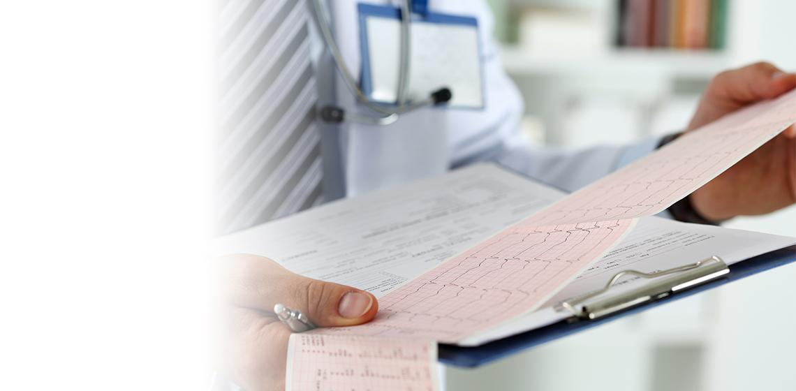 Doctor with EKG