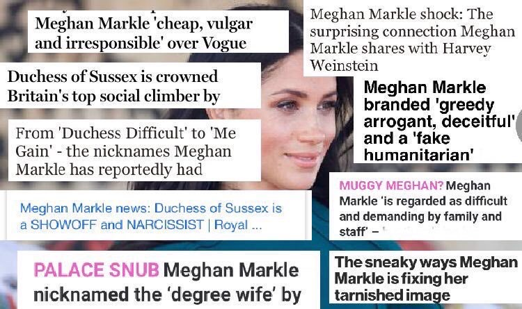 Meghan Markle does not deserves this!