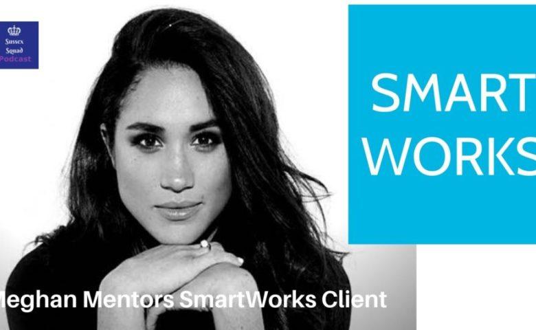 Meghan Markle mentoring Smartworks Clients