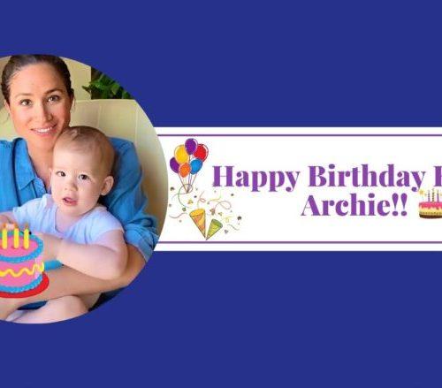 Happy Birthday King Archie!