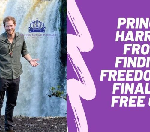 Prince Harry: From Finding Freedom To Finally Free 087