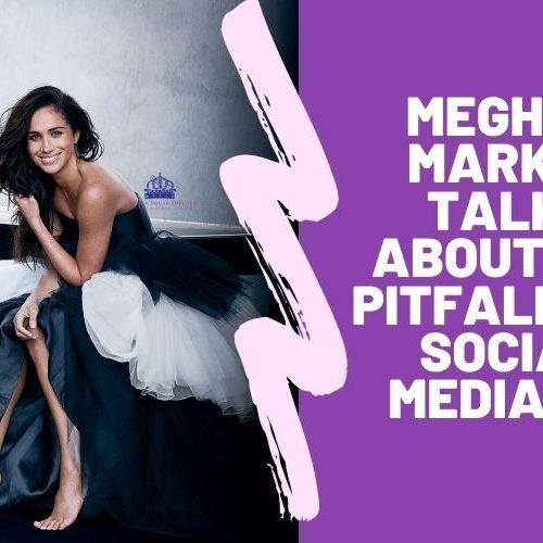 Meghan Markle talks about the pitfalls of Social Media! ENDSARS 091