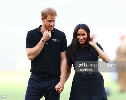 Meghan and Harry – Standing their ground