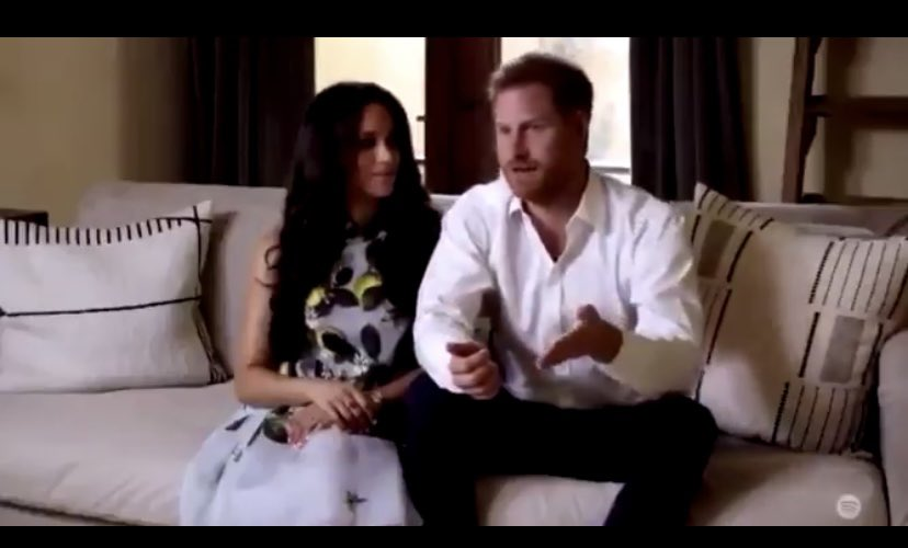 Meghan And Harry At Spotify Stream On Event