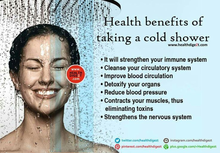 Benefits Of Cold Shower  Sustainability Challenge