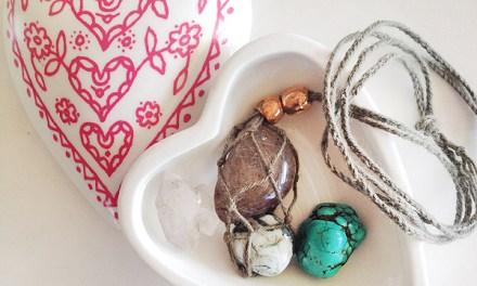 DIY: Gemstone Necklace