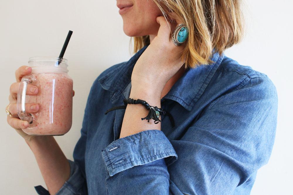 Drinking Straw Bracelet