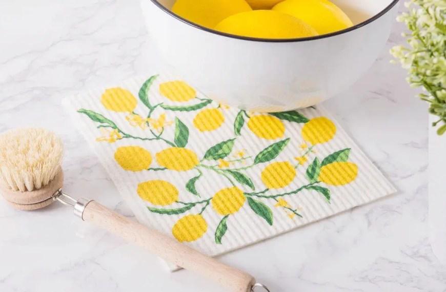 How Do You Sanitize Swedish Dishcloths?