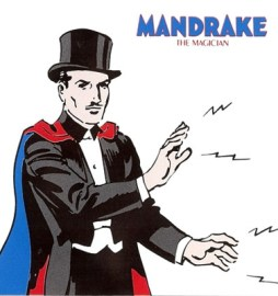 green superhero Mandrake the magician