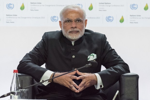 Indian PM Modi at the COP21 Paris Summit