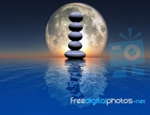 Moon Cairn Freedigitalphotos