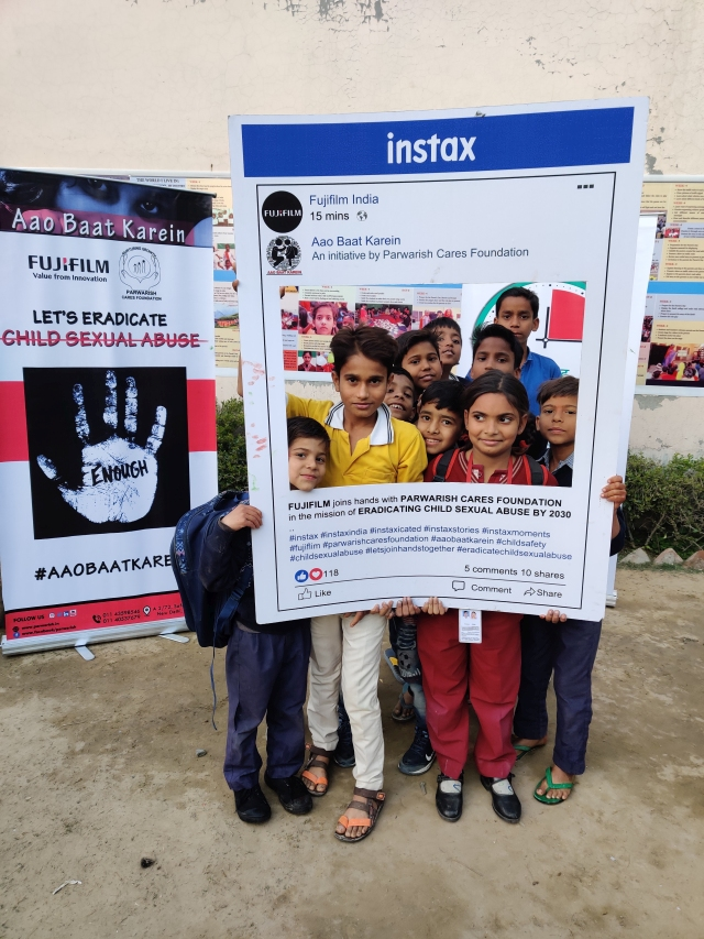 Fujifilm India partners with Parwarish Cares Foundation  to prevent Sexual Abuse of Children