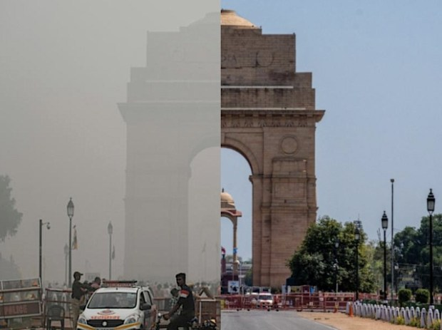 Air pollution lower in Delhi because of COVID-19