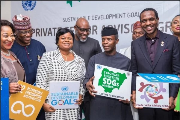SDGs in Nigeria: SDGs progress Report