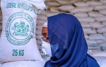 Federal government of Nigeria grain for distribution