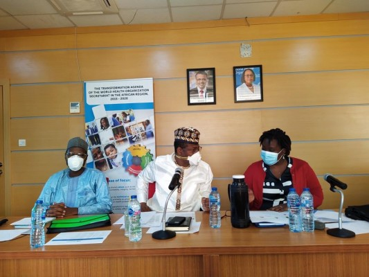 Members of African Regional Certification Commission for polio eradication