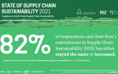 State of Supply Chain Sustainability | Earth Day Infographic 2021