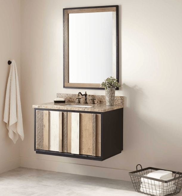 ARNER WALL-MOUNT VANITY FOR RECTANGULAR UNDERMOUNT SINK