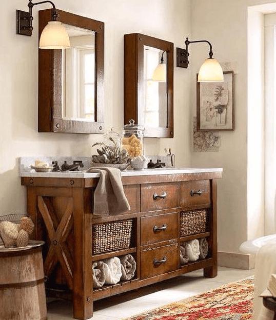 35 Ideas For Rustic Bathroom Vanities Jasa Ekspor Impor