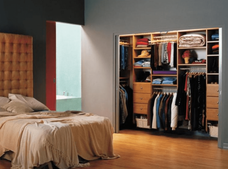 Small Room to Master Closet Conversion - Walk in Closet Ideas