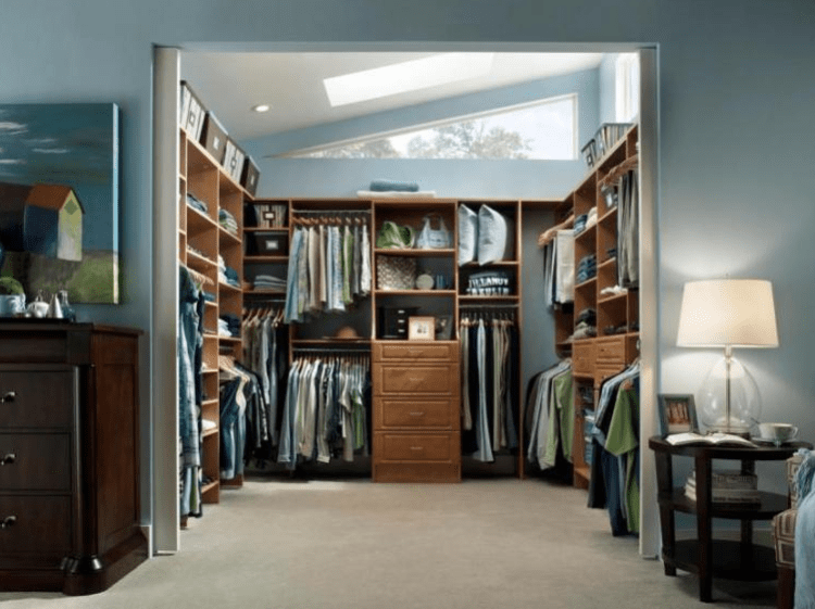 Walk Through Closet - Walk in Closet