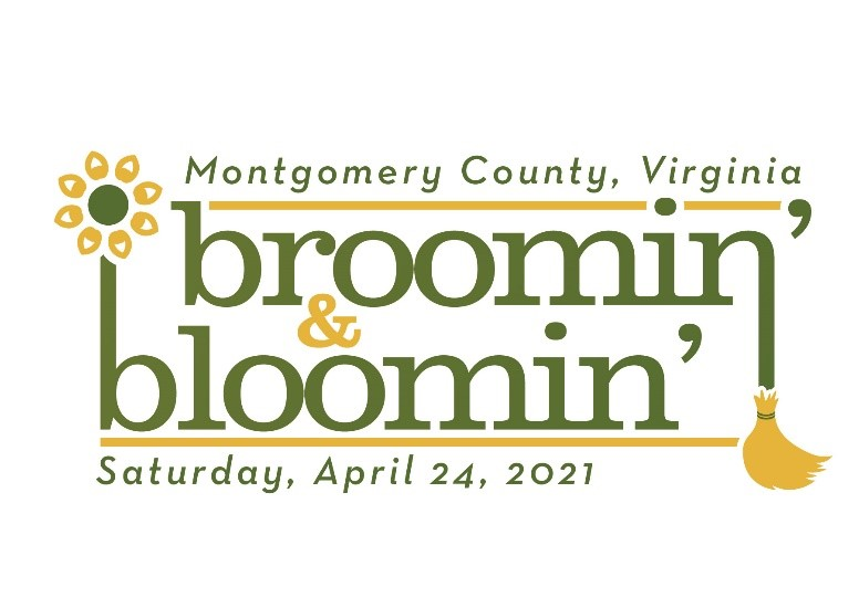 Montgomery County, Virginia's broomin' & bloomin' Saturday April 24, 2021