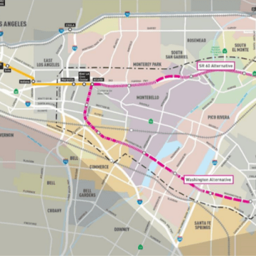 Metro Recommends Gold Line Extension to Whittier, Votes Thursday