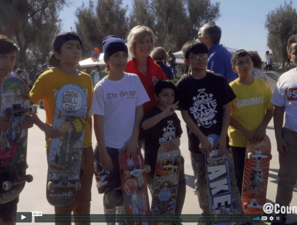 Whittier Now Home of County's Biggest Skate Park