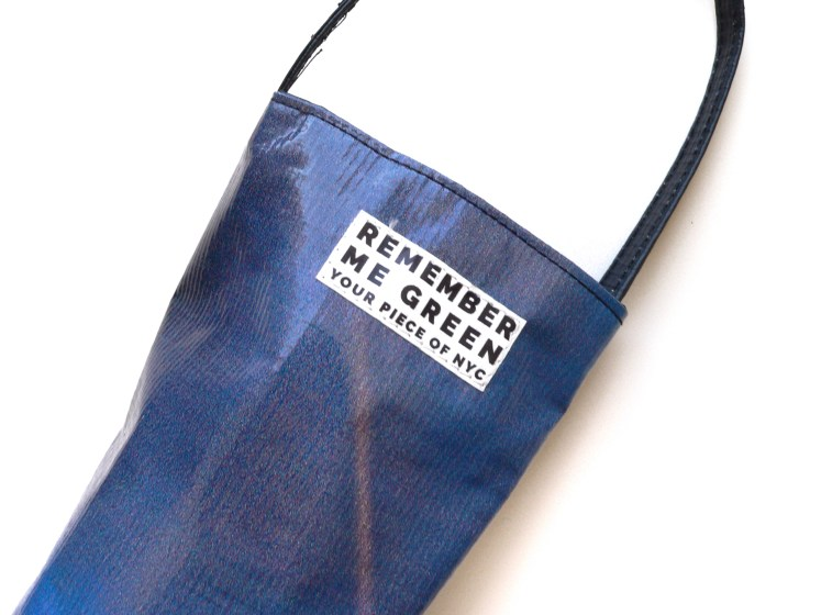 2449335f8ad repurposed billboard recycled upcycled reimagined bags totes bag tote  fashion blog blogger review sustainable sustainability eco